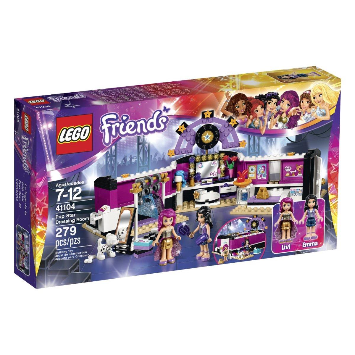 Amazon Deal: Lego Friends 41104- Pop Star DressingRoom